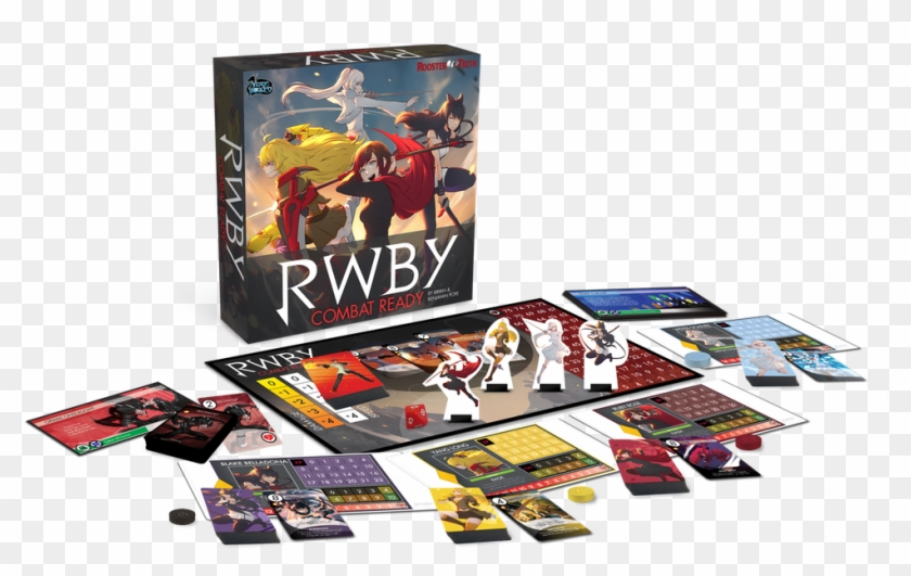 Rooster Teeth And Arcane Wonders Are Teaming Up To - Rwby Combat Ready Board Game Clipart #670519