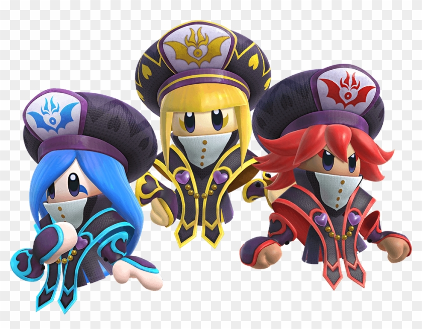 They Appear To Have A Connection To The Ritual That - Kirby Star Allies Sisters Clipart #671562