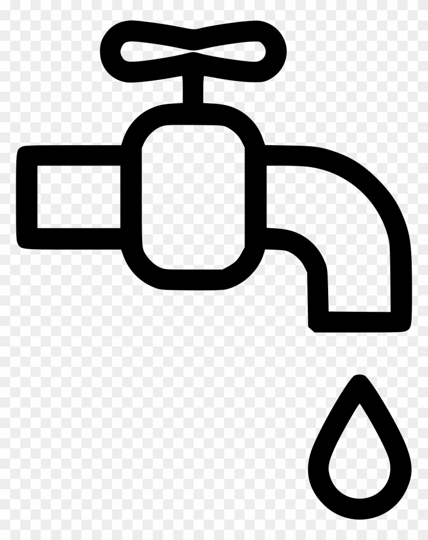 Png File - Water Tap Icon Png Clipart #673753