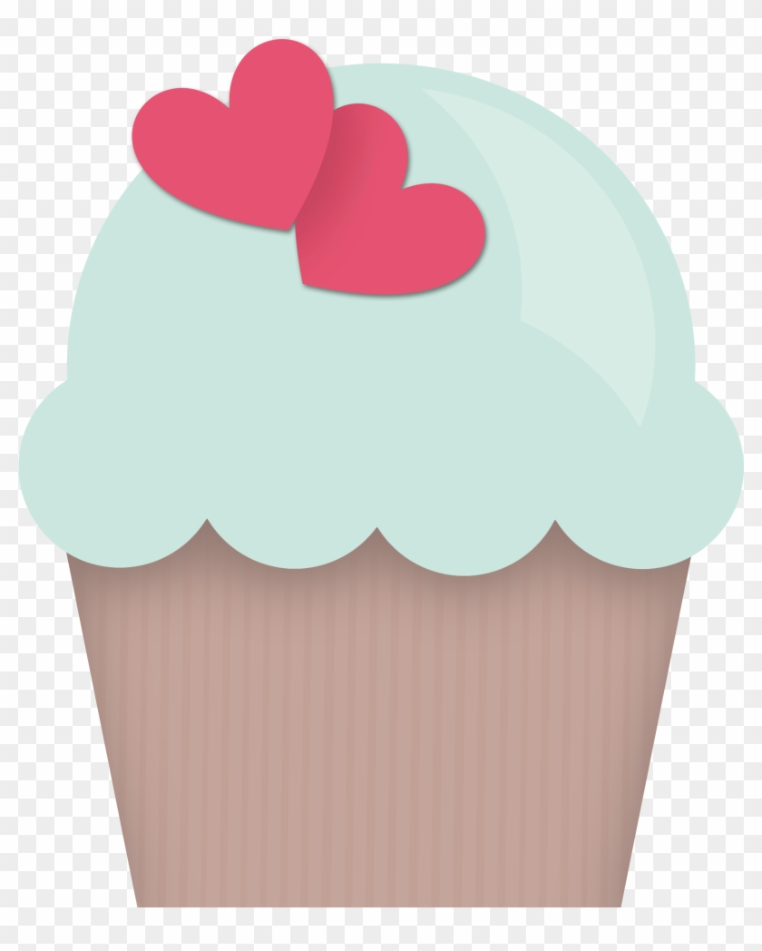 Clipart Royalty Free Library Cupcake Doces Sorvetes - Cupcake - Png Download #682717