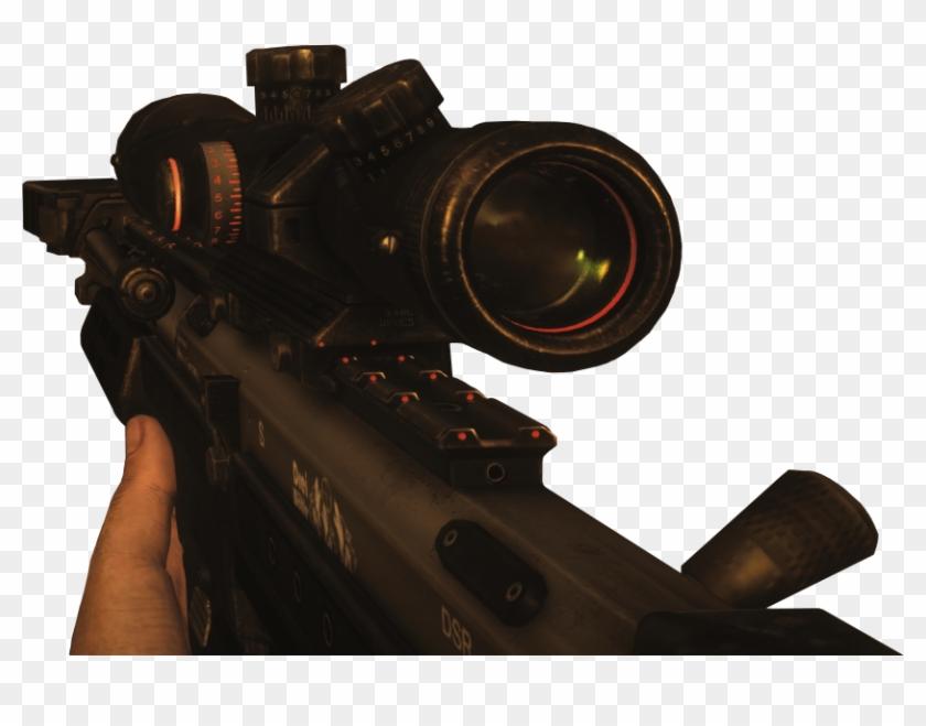 Dsr 50 Reloading Png - Black Ops 2 Dsr Clipart #686965