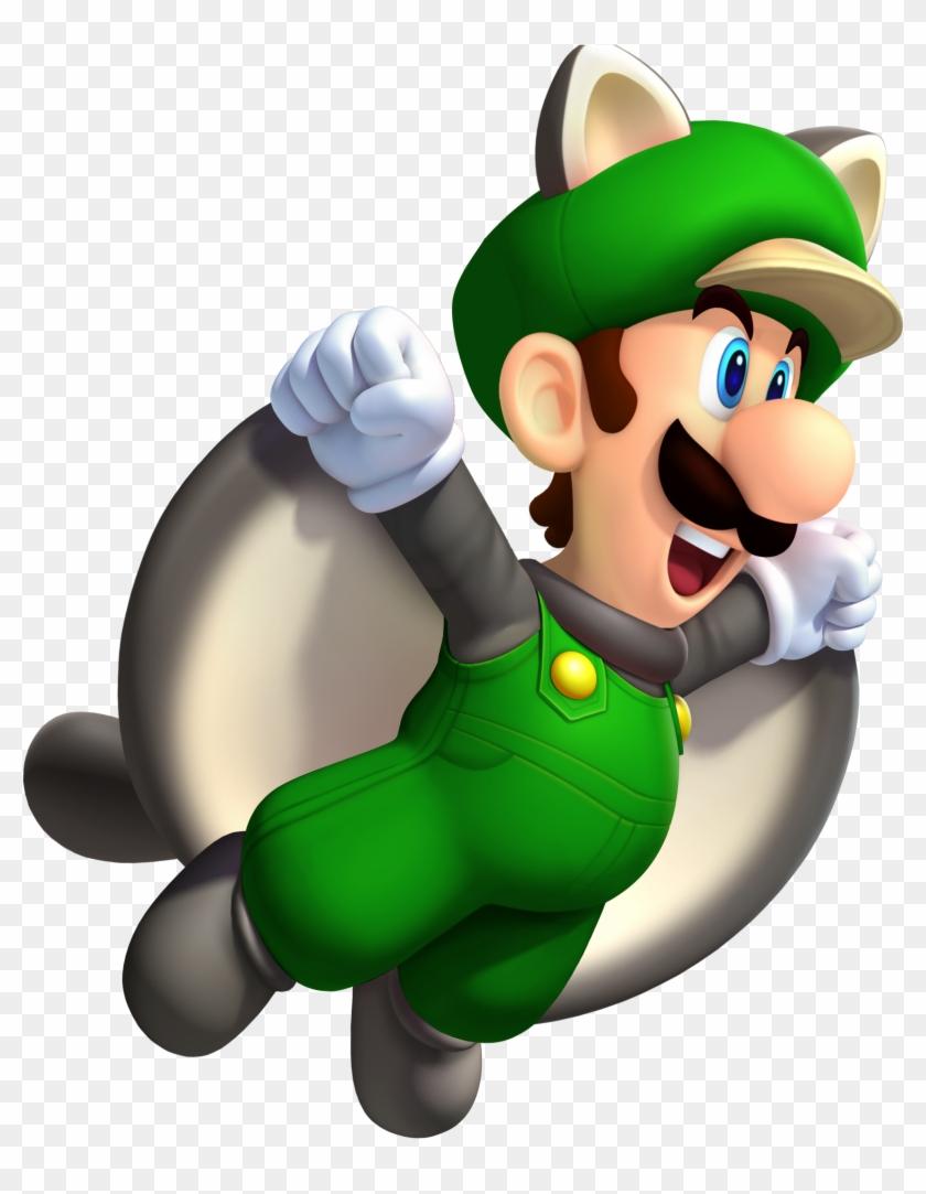 Flying Squirrel Luigi Super Mario Party Super Mario New