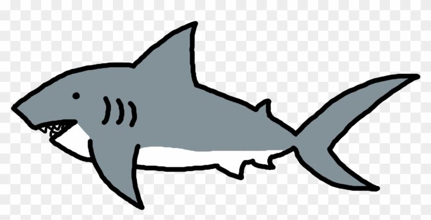 Clip Art Of Sharks - Clip Art Greenland Shark - Png Download #687594