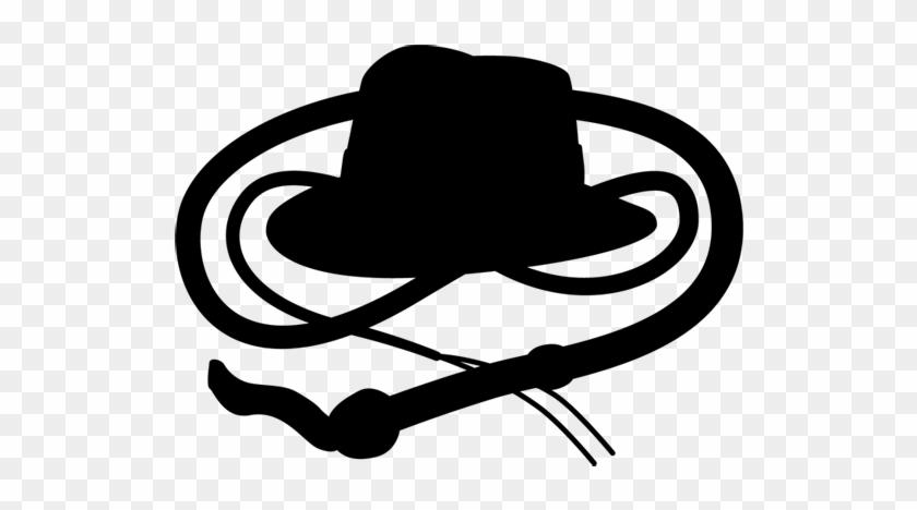 Nerd O Rama Indianajones - Indiana Jones Hat Silhouette Clipart #687615