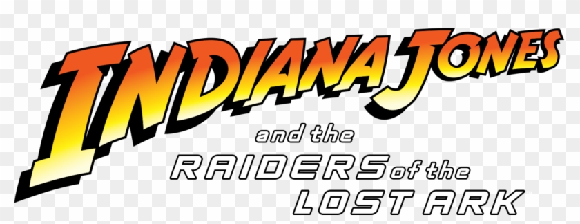 Indiana Jones And The Raiders Of The Lost Ark - Indiana Jones Adventure Font Clipart #687620