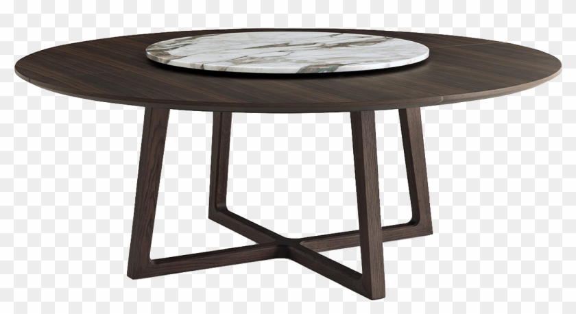 Poliform Concorde Round Dining Table, Round Table Concord
