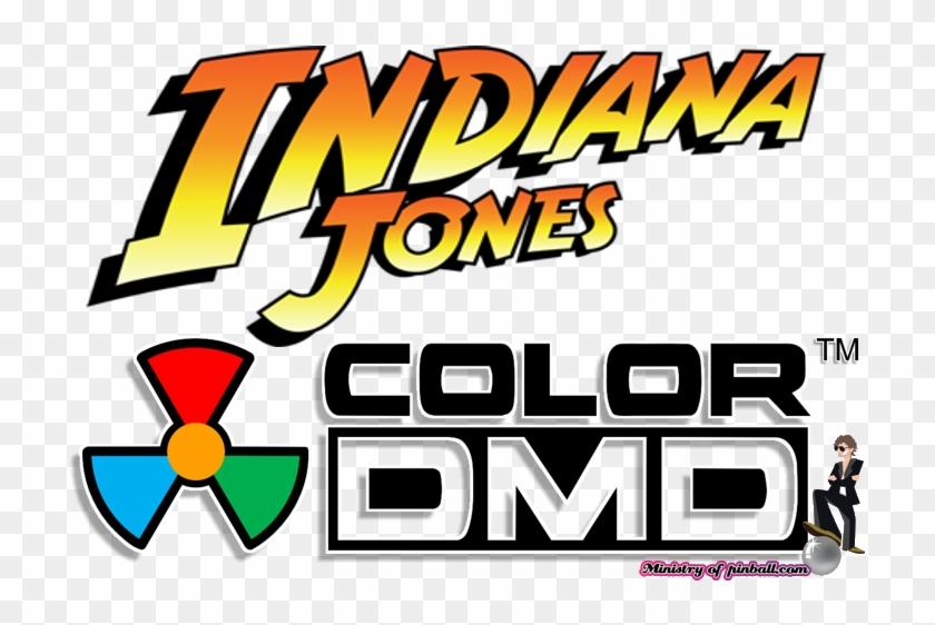 Indiana Jones Colordmd - Indiana Jones Raiders Of The Lost Ark Logo Clipart #688871
