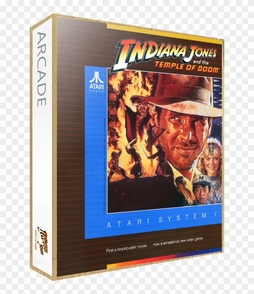 Indiana Jones And The Temple Of Doom - Drew Struzan Movie Poster Clipart #688909