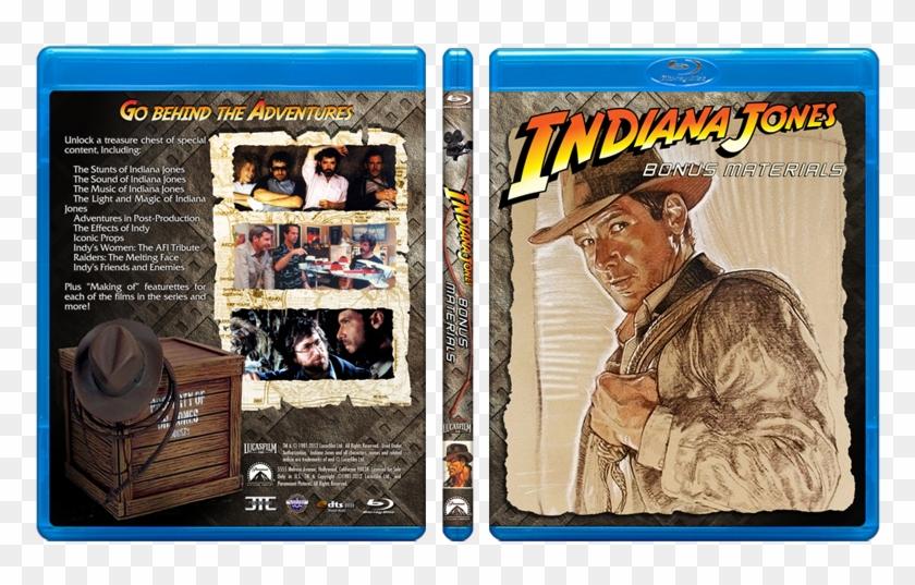 [show Spoiler] - Indiana Jones Bonus Material Blu Ray Clipart #689186