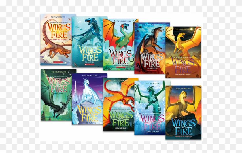 Making Magic With Wings Of Fire - Book Ten Wings Of Fire Clipart #690067