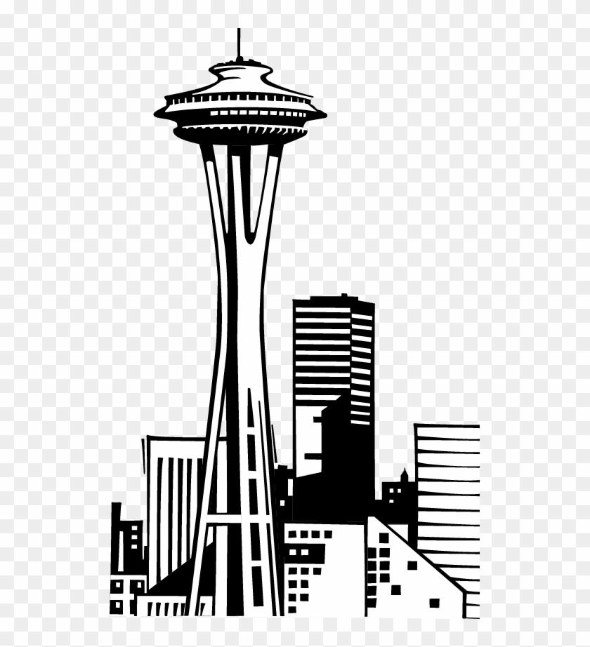 City Clipart Seattle - Seattle Washington Space Needle Clipart - Png Download #692776