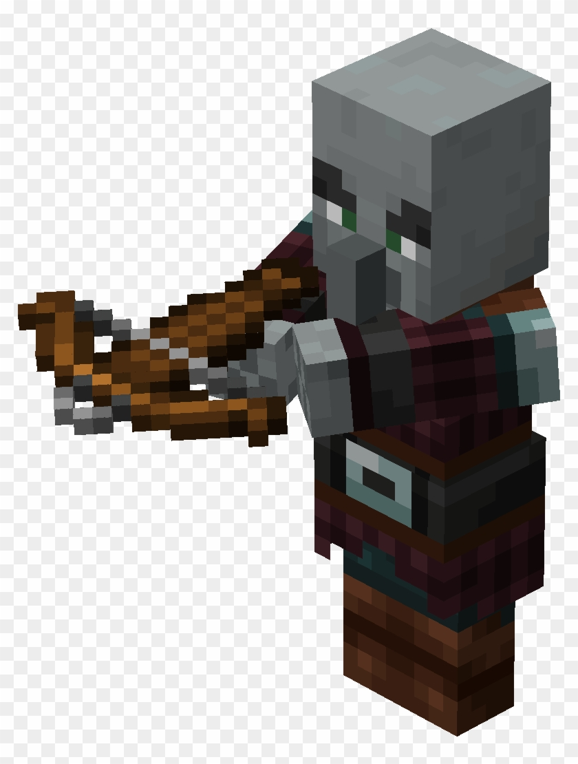 From Minecraft Wiki - Minecraft Vindicator Png Clipart (#10