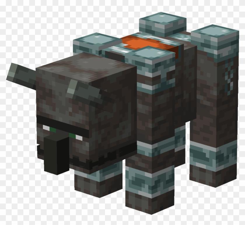From Minecraft Wiki - Minecraft 1.14 Pillager Beast Clipart #693131