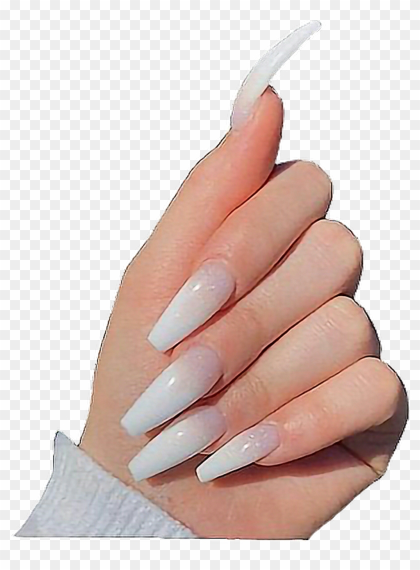 transparent acrylic nails transparent white acrylic nails clipart 693229 pikpng transparent white acrylic nails clipart