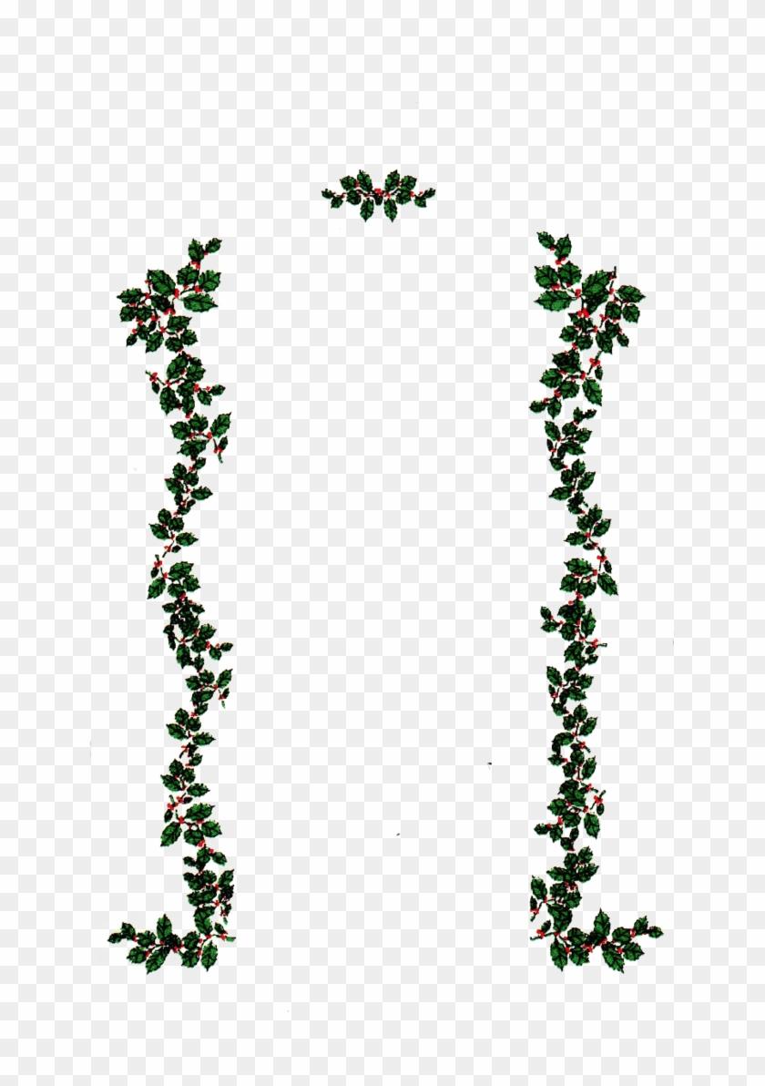 Pix For > Transparent Vine Border - Printable Merry Christmas From Heaven Clipart #695595