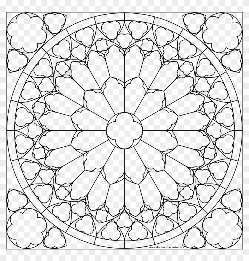 - Pattern Color Pages Practical Flower Patterns To Printable - Printable  Zigzag Coloring Page Clipart (#695861) - PikPng