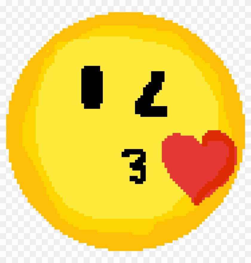 Emoji - Basketball Pixel Art Clipart #696861