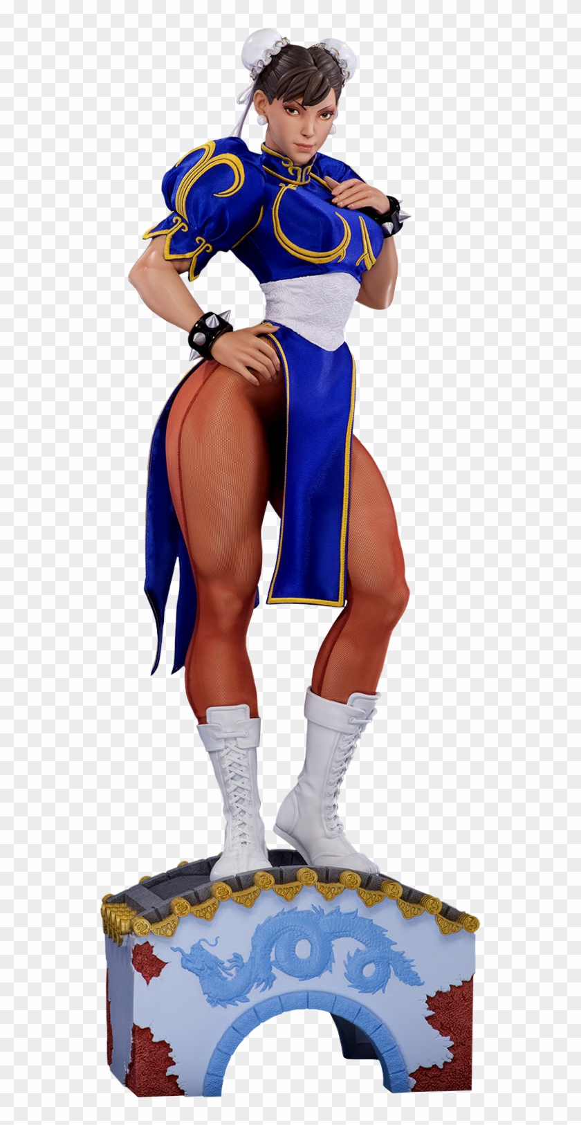 Street Fighter Ii Street Fighter Chun Li Statue Clipart 696956 Pikpng