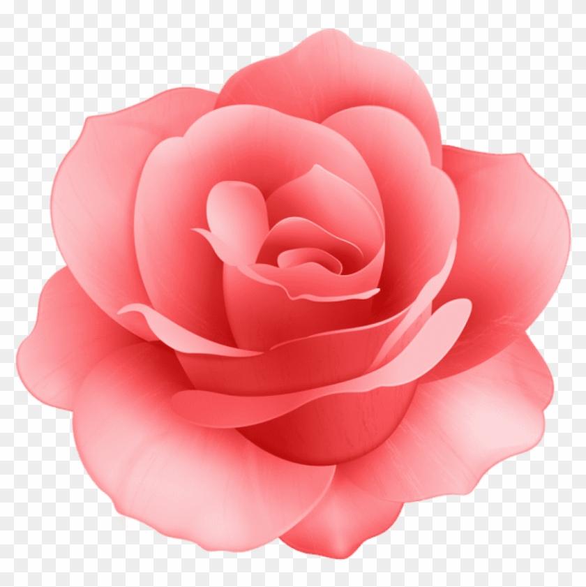 No Words Source Flower Emoji No Background The Emoji - Rose Png Clipart #698029