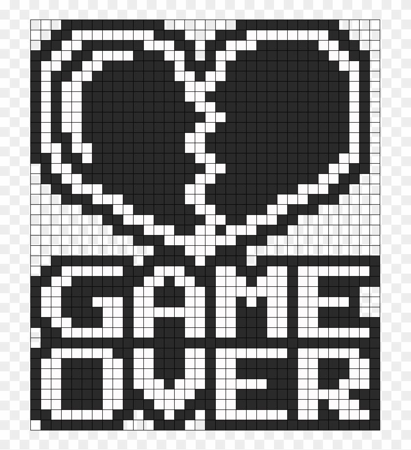 Perler Game Over Perler Bead Pattern Bead Sprite Pixel
