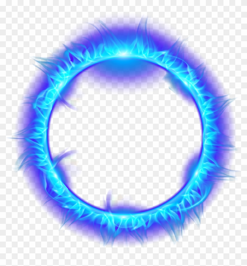 Blue Burning Fire Light Flame Of Ring Clipart - Зеленое Пламя Png Transparent Png #70786