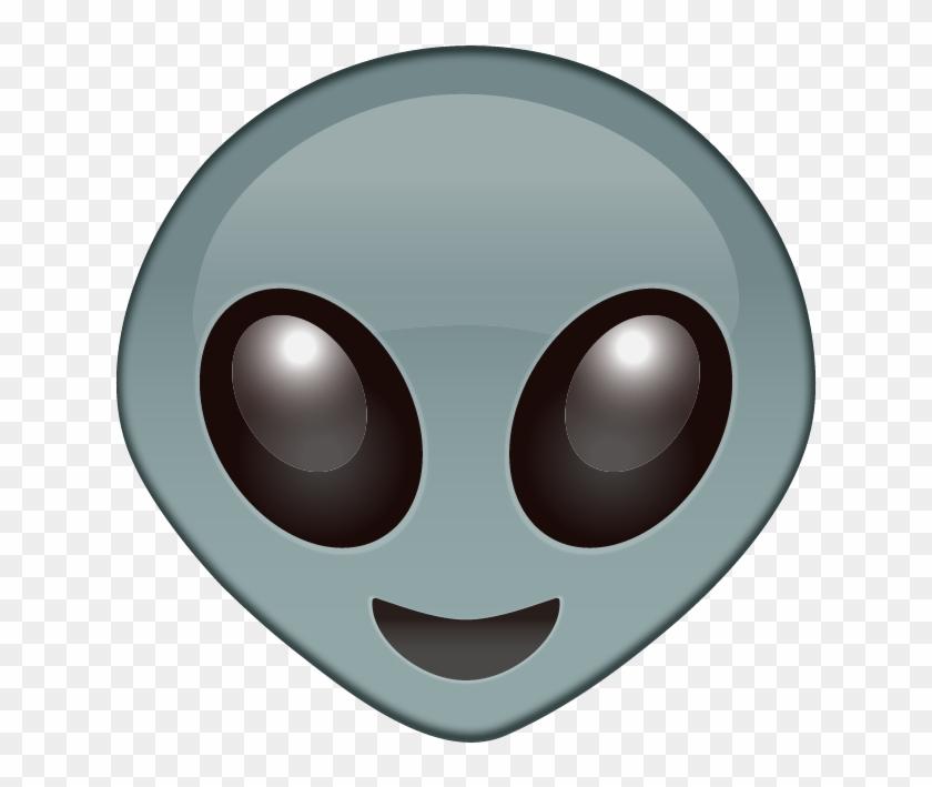 Alien Face Emoji - Emoji Sticker Alien Emoji Transparent Clipart #72279