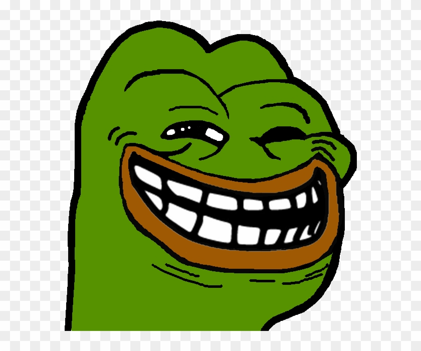 684 X 626 11 - Pepe The Frog Troll Face Clipart #72376