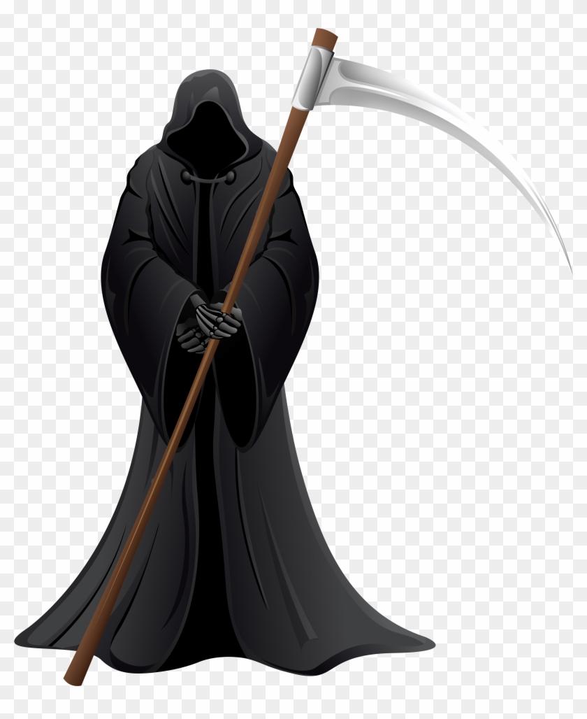 Reaper Clipart Death Symbol - Grim Reaper Death Clipart - Png Download #78109