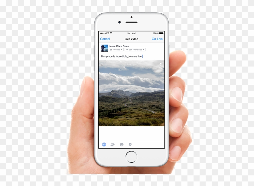 Facebook Live On Ios - Coming Live On Facebook Clipart #79114