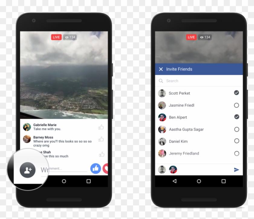 Facebook Enhances Live Video Feature With Reactions, Clipart #79220