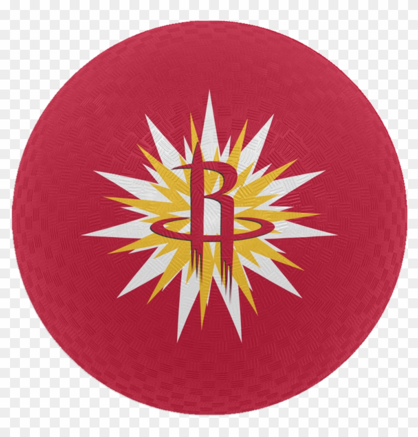 "Houston Rockets Baden 5"" Hwc Burst Playground Ball - Houston Rockets Clipart #700412"