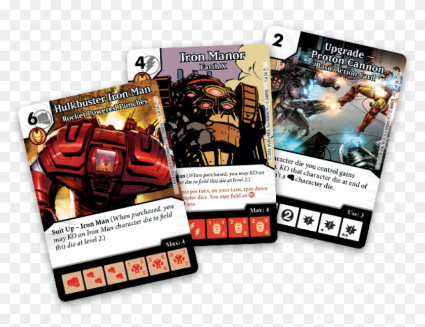 Marvel Dice Masters Iron Man And War Machine - Warhammer 40000 Dice Masters Clipart #700795