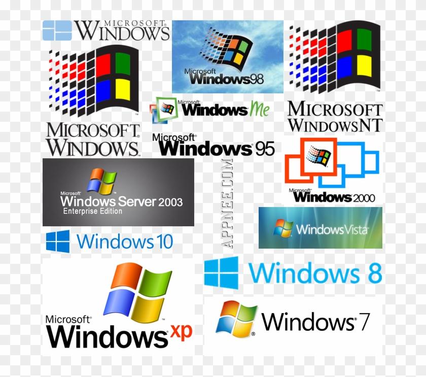 Microsoft Windows Screensavers Vista Microsoft Windows - Windows Xp Vista 7 8 8.1 10 Clipart #701043