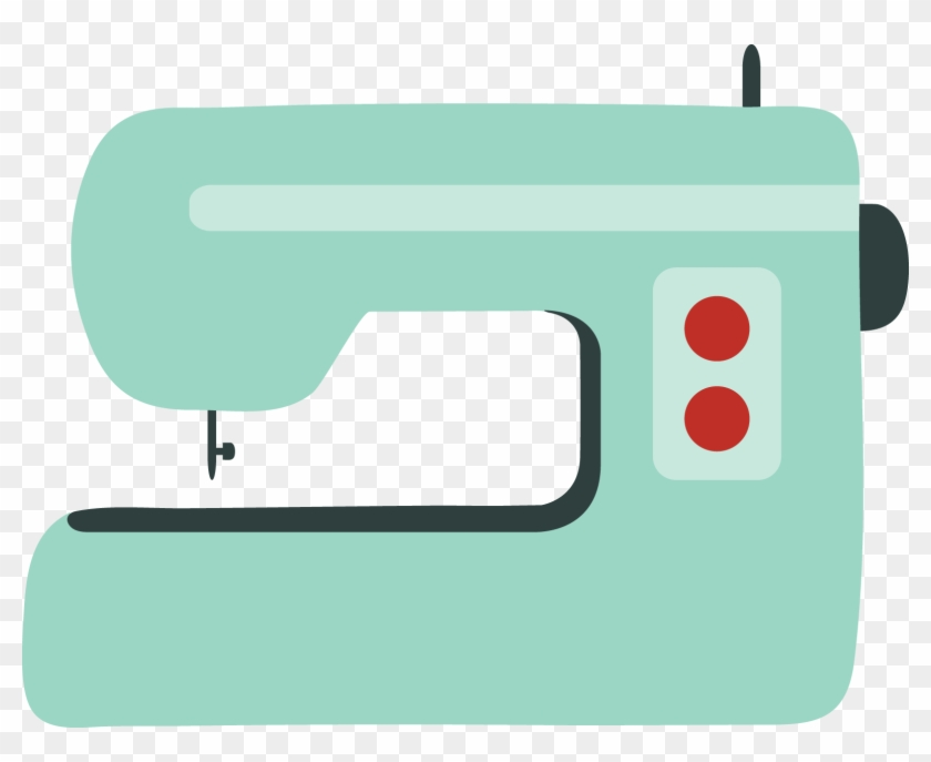 Pin Sewing Machine Clipart Stitching - Sewing Machine Tumblr Png Transparent Png #701147