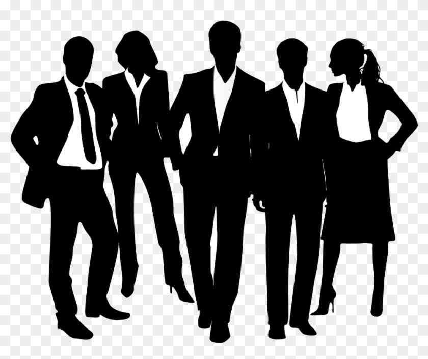 1030 X 1163 4 0 - Business People Silhouette Png, Transparent Png #703478