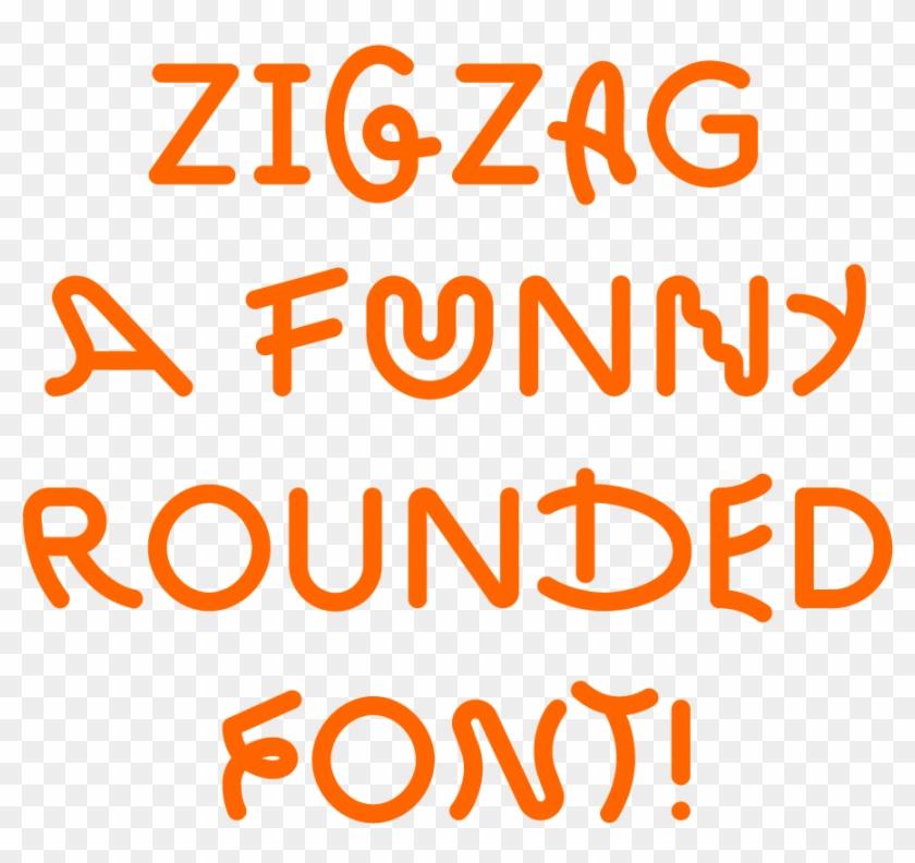 Benoit Bodhuin Zig Zag - Zig Zag Font Clipart #704779