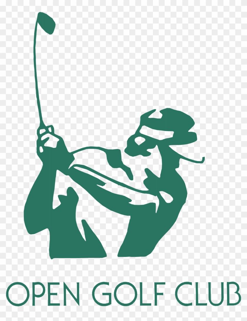 Open Golf Club Logo Png Transparent - Logo Club De Golf Clipart #712283