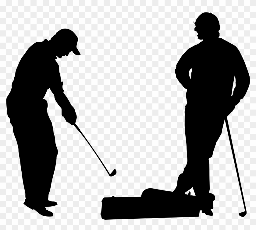 Images For Golf Club Png - Transparent Golf Silhouette Png Clipart #712314