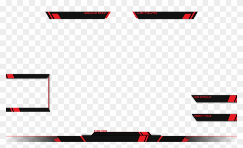 Live Stream Overlay Template Png Clipart #713371