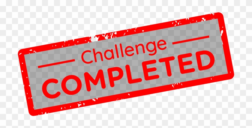 You May Remember My Post About My 10 Day Movie Challenge - Sign Clipart #713688