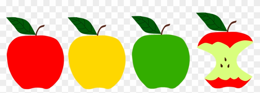 Apples Sunflower Storytime - Red Yellow Green Apple Clipart #715644