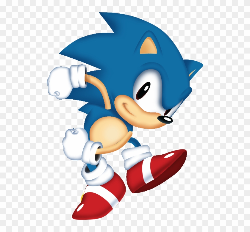 Tbsf On Twitter - Sonic Mania Classic Sonic Clipart #717669
