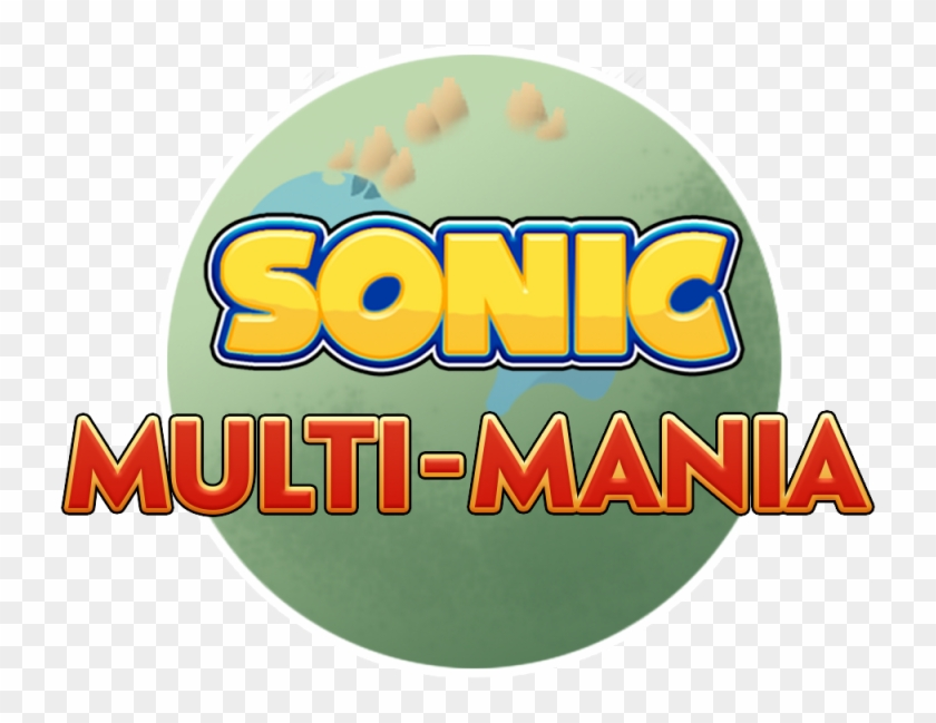 This Is The Fouth Build Of Multi-mania For Sonic Mania, - Graphic Design Clipart #718067