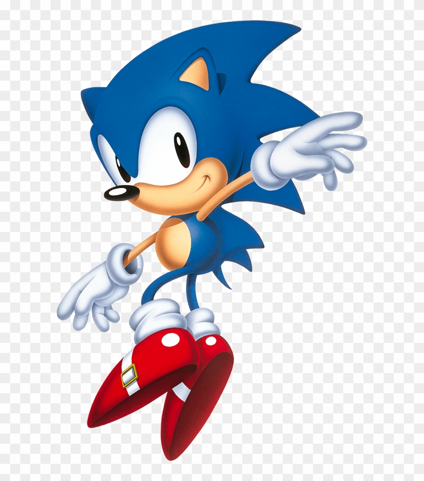 classic sonic the hedgehog logo png