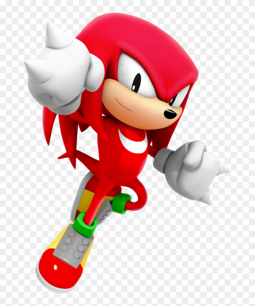 1024 X 1024 8 Sonic Generations Knuckles Classic Clipart 718636 Pikpng