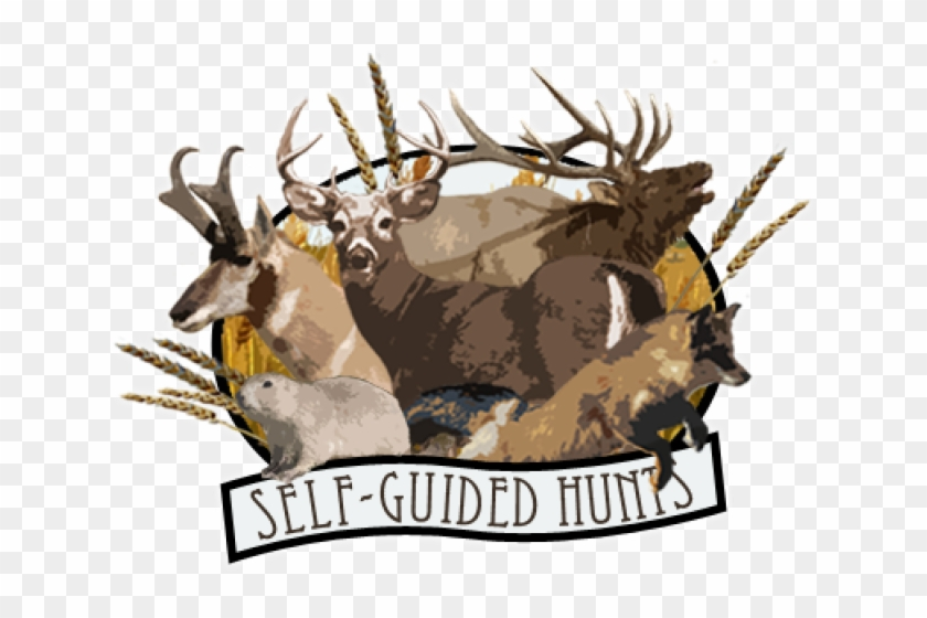 Deer And Hunting Logo Png Clipart@pikpng.com