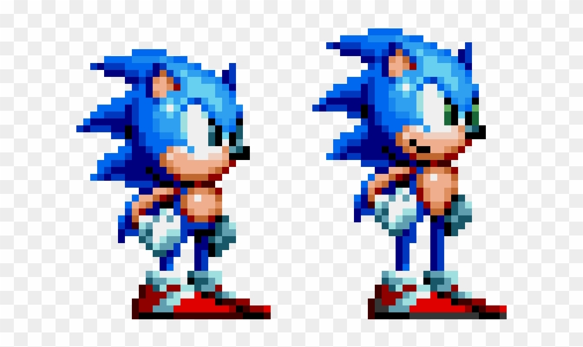 Sonic Mania Modern Sonic - Sonic Mania Knuckles Sprite Clipart #718692
