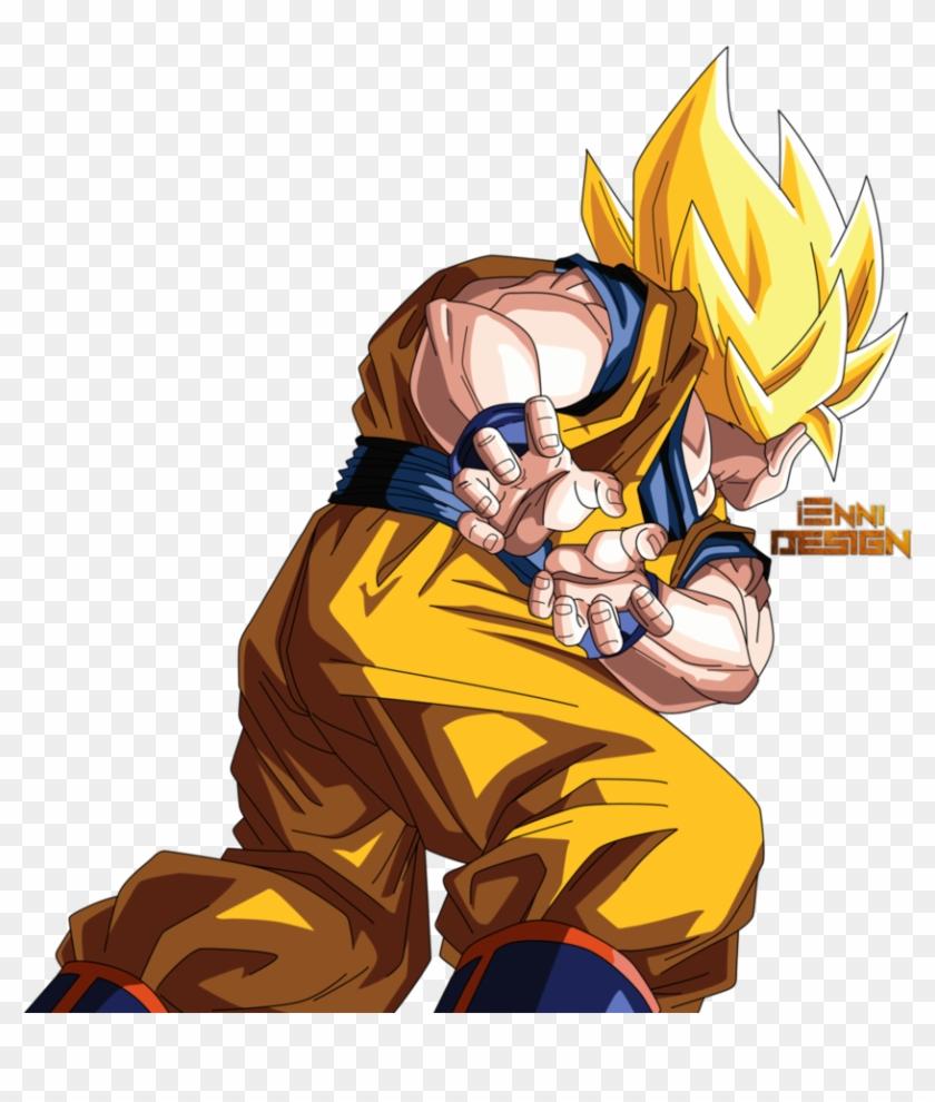 Dragon Ball Z Kamehameha Png - Dragon Ball Z Goku Kamehameha Png Clipart #721225