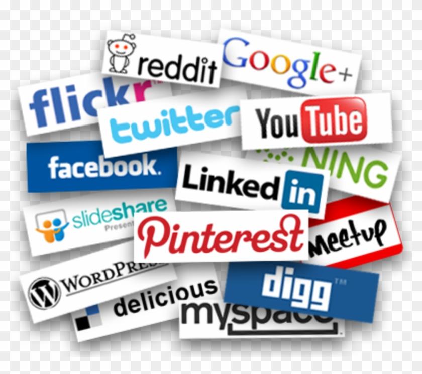Social Media Marketing - Positive Side Of Media Clipart