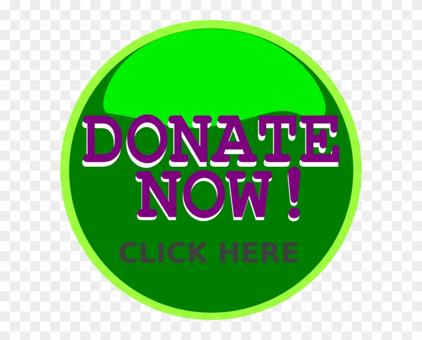 Donate Green Button Png Clipart #727087